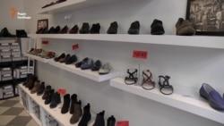 Як вийти на ринок ЄС: Українське взуття продають у Празі (відео)