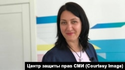 """Galina Arapova is the only Russian attorney ever to have won the International Bar Association's award for """"outstanding contribution by a practicing lawyer to the defense of human rights."""" Now her country has designated her as a """"foreign agent."""" (file photo)"""