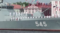 Russia Shows Off Sea Power With Naval Parade