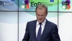 Donald Tusk: UE condamnă agresiunea Rusiei în Ucraina