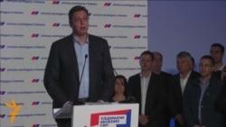 Вучиќ прогласи изборна победа