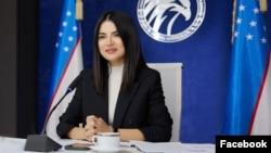 Старшая дочь президента Узбекистана Саида Мирзияева.