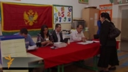 Montenegrins Voting In Presidential Election