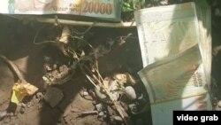 Լուսանկարը` ոստիկանության հրապարակած տեսանյութից