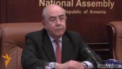 Կիպրոսի խորհրդարանի նախագահը դատապարտում է Ադրբեջանի կողմից ԼՂ ուղղաթիռի խոցումը