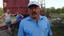 Говорит житель хутора Степнянского Аркадий Индыло