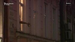 Protesti sa prozora u Beogradu