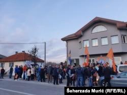 Abdićeve pristalice u Velkoj Kladuši, oktobar 2020