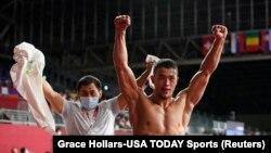 Акжол - Олимпиаданын финалына чыккан экинчи спортчу