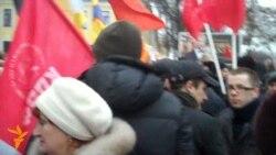 Протесты в российских регионах