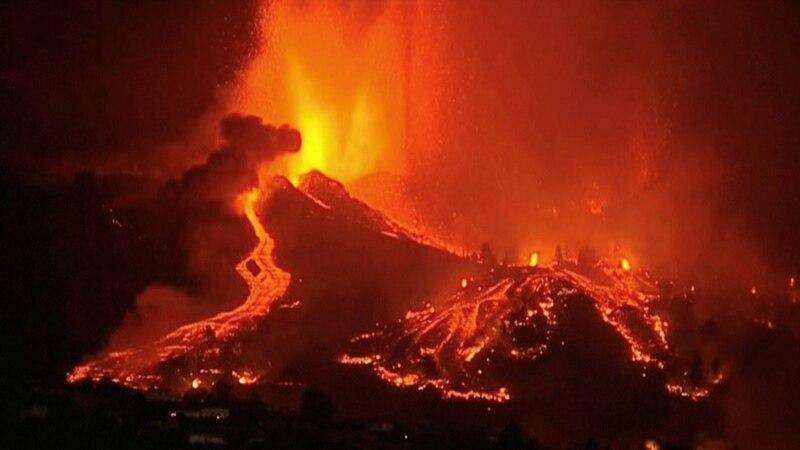 Španski premijer došao na La Palmu, evakucija zbog erupcije vulkana
