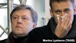 Григорий Явлинский и Алексей Навальный, 2011 год