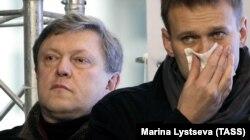 Григорій Явлінський і Олексій Навальний, 2011 рік