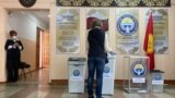 Kyrgyzstan, Bishkek, election - The course of voting in local keneshes and the referendum in Kyrgyzstan. 11th April 2021