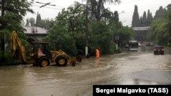 Затопленная Ялта, 18 июня 2021 года