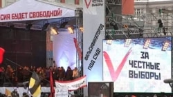 Митинг на проспекте Сахарова: Ксения Собчак
