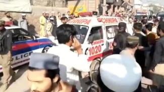 Deadly Bombing Strikes Religious School In Northwest Pakistan (Clean)