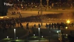 ბელარუსში პოლიციამ რეზინის ტყვიები დაუშინა დემონსტრანტებს, ლუკაშენკამ თავი გამარჯვებულად გამოაცხადა