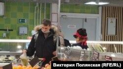 В одном из супермаркетов Улан-Удэ