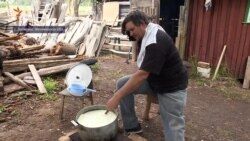 Однією лівою. Колишній полонений бойовиків «ЛНР» варить козячий сир на Житомирщині (відео)