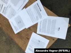 Проштампованные Ленкой Клодовой петиции
