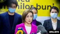 Майя Санду, номзади пирӯзи интихоботи президентии Молдова