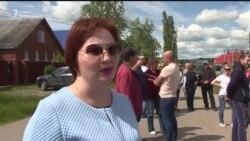 Уфаның Дим районында яшәүчеләр су кертү таләбе белән урамга чыкты