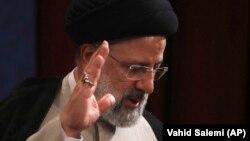 Novoizabrani predsjednik Irana Ebrahim Raisi u Teheranu, 21. juna 2021.