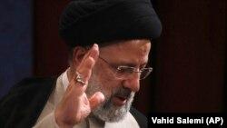 Իրանի ընտրյալ նախագահ Էրբահիմ Ռայիսին, Թեհրան, 21 հունիսի, 2021թ.