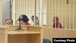 Марина Кохал в суде. Фото пресс-службы судов Петербурга