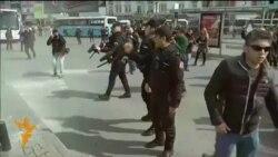 Истанбулда полиция хатын-кызлар демонстрациясен куып таратты