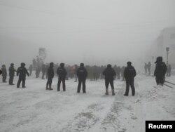 Pamje nga protestat e së shtunës në Rusi.