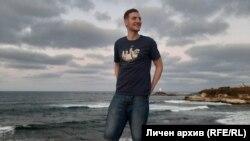 Даниел, който пострада от полицейско насилие на 2 септември в София. Снимката е предоставена от близките му