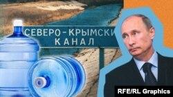 Apa în Crimeea vine din Ucraina: o problemă tot mai mare pentru Putin.