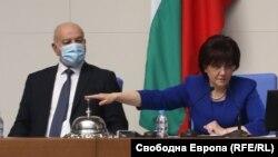 Председателят на парламента Цвета Караянчева