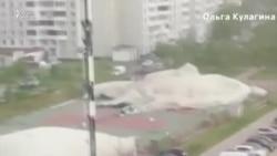 Moskva qasırğasında 11 ölən var