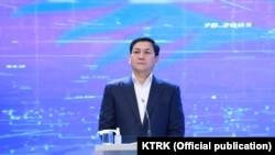 Абдил Сегизбоев, раиси пешини КДАМ-и Қирғизистон.