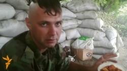 Обед украинского солдата