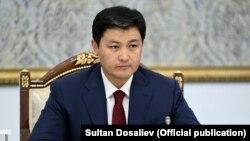 Председатель кабинета министров Улукбек Марипов.