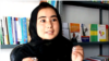 Afghanistan - Homaira Nawrozi, 23, a teacher in Lashkar Gah, Helmand Province, opened her own small library. screen grab