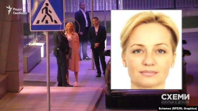 А інша – зовсім непублічна особа, яку «Схем» вперше зафіксували в 2018 році в аеропорту «Київ» після прильоту родини Медведчука, а встановили в 2019-му. Це Наталія Лавренюк