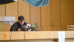 Славянскдаги сепаратист лидер Путиндан ëрдам сўрамоқда