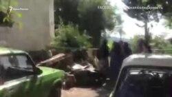 Российские силовики проводят обыск в доме фигуранта «дела Хизб ут-Тахрир» (видео)