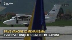 U BiH stiglo više od 10.000 doza vakcina koje je osigurao EU