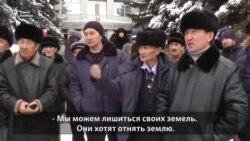 Земельный спор на севере Казахстана: «Если у нас заберут землю, что с нами будет?»