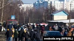 Локални протестни маршеви во Белорусија на 6.12.2020.