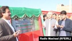 محمود خان د پروژې پرانستې پر مهال