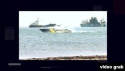 Керченська протока. Кораблі під час українсько-російського конфлікту навколо острова Тузла. 2003 рік