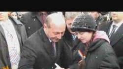 Traian Băsescu la Chişinău