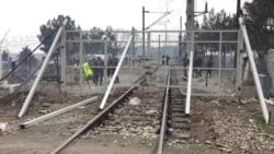 Македонската граница затворена за бегалци